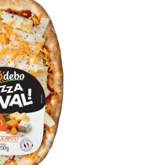 Pizza Oval 4 Queijos