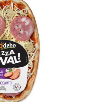Pizza Oval Calabresa